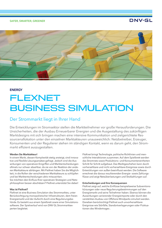 FleXnet business simulation