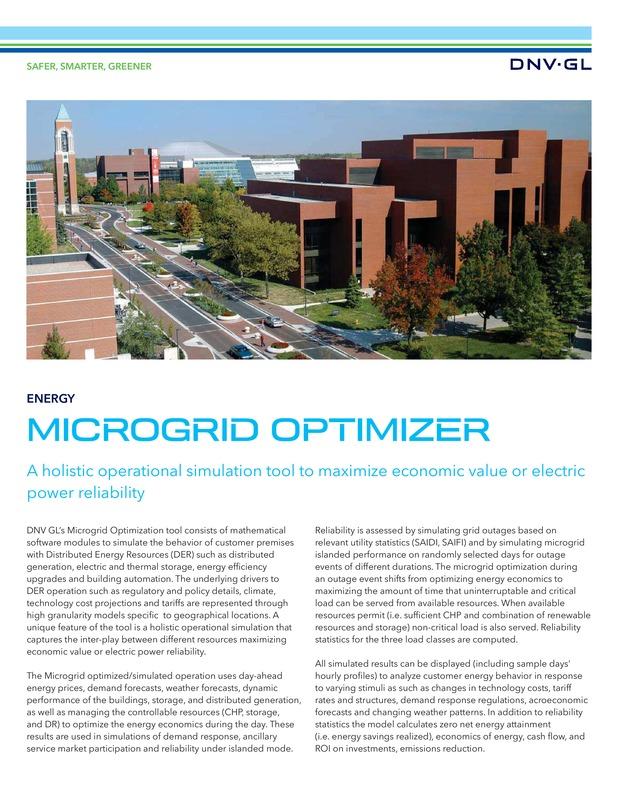 Microgird optimizer