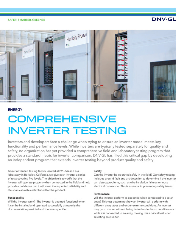 Comprehensive inverter testing services.pdf
