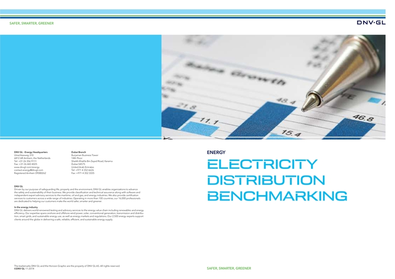 Electricity distribution benchmarking - Middle East - spread
