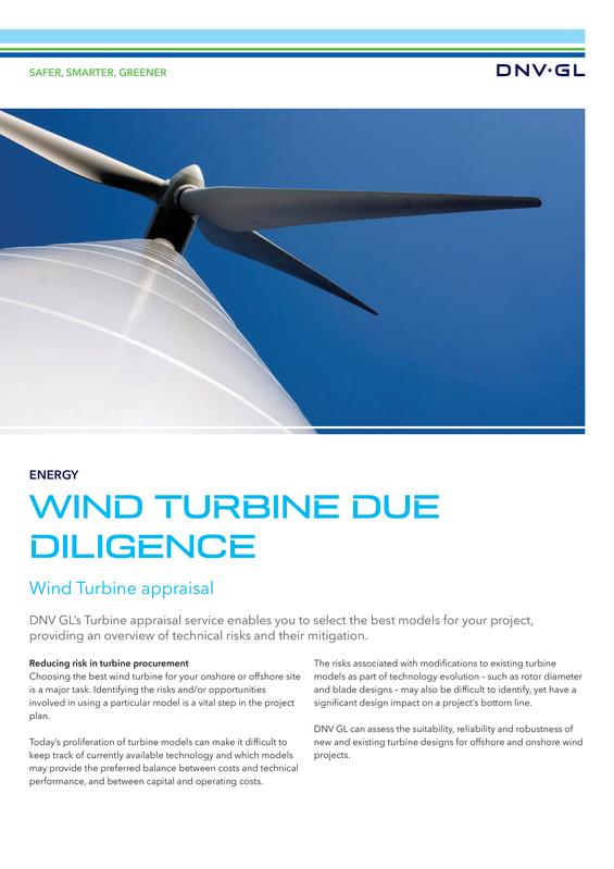 Wind Turbine Due Diligence