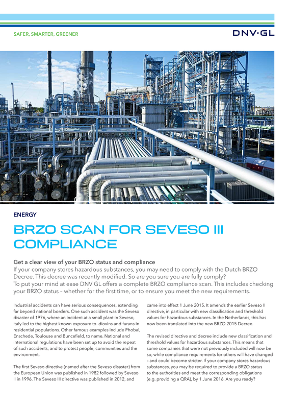 BRZO scan for Seveso III compliance