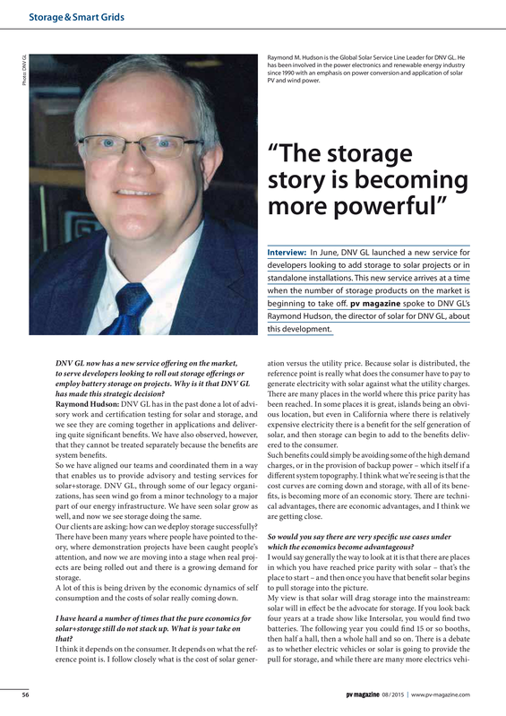 PV magazine 08-2015 The storage story is becoming more powerful.pdf