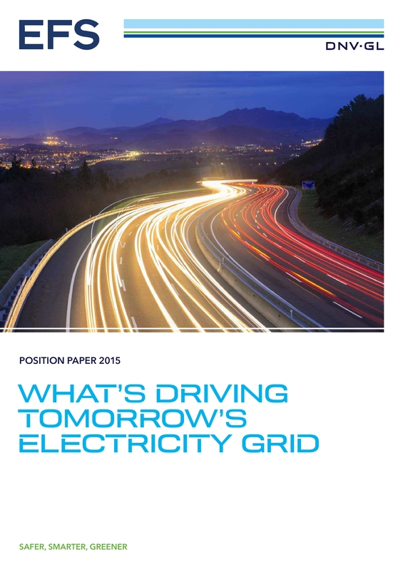 What's driving tomorrow's electricity grid position paper