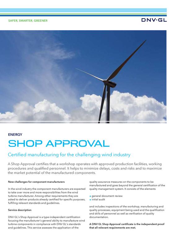 Shop Approval