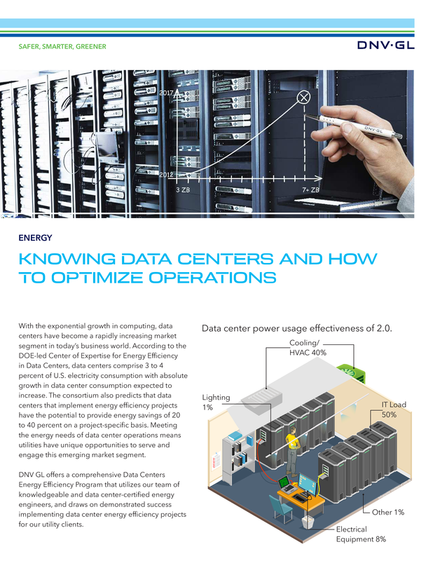 Knowing data centers and how to optimize operations