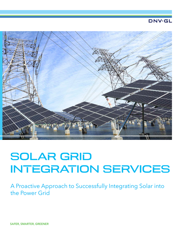 Solar grid integration services