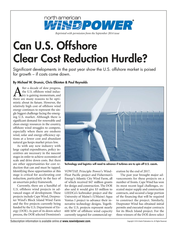 Can U.S. Offshore Clear Cost Reduction Hurdle - NA Windpower 09.2014.pdf
