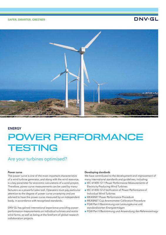 Power performance testing