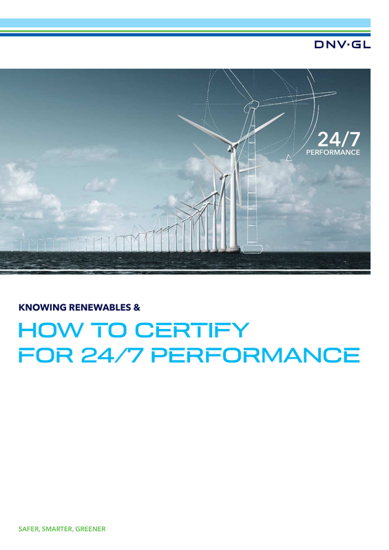 Knowing renewables and how to certify for 24/7 performance