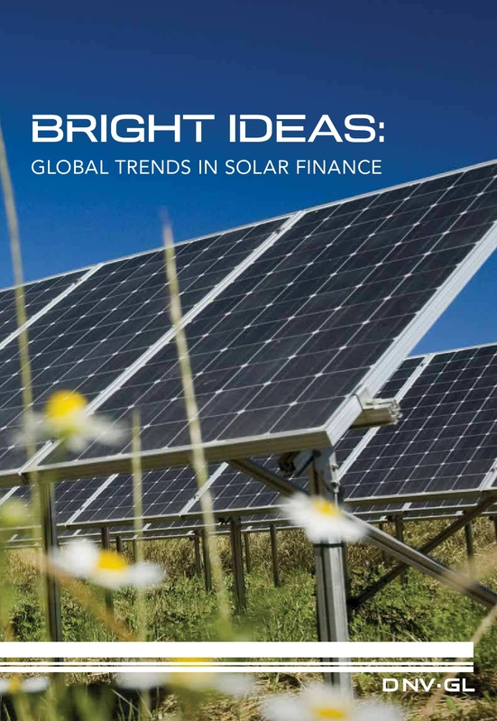 Bright Ideas: Global trends in solar finance