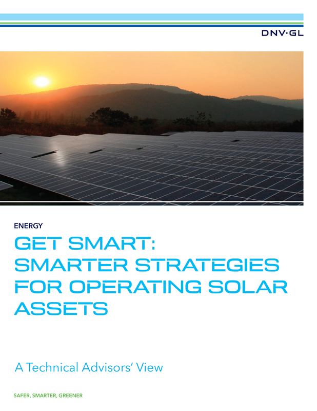 Get smart - Smarter strategies for operating solar assets