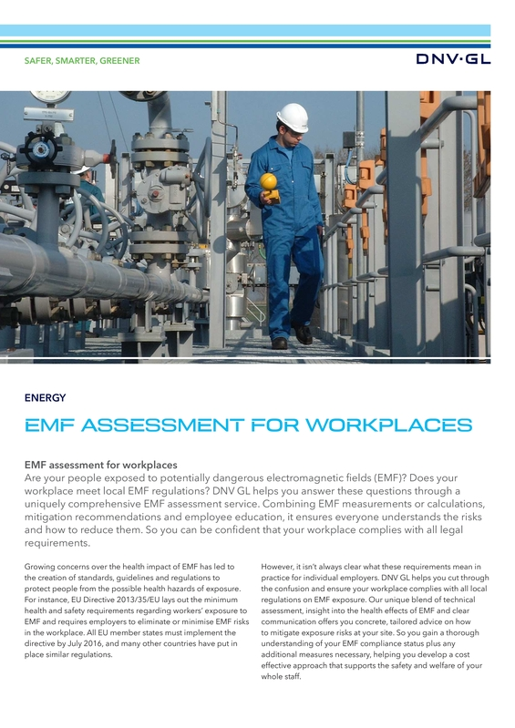 EMF assessment for workplaces