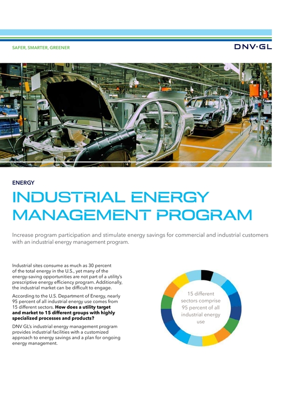 Industrial Energy Management Program