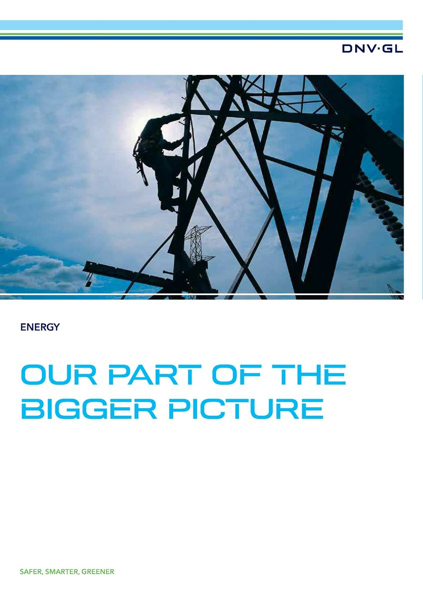 DNV GL - Energy general brochure