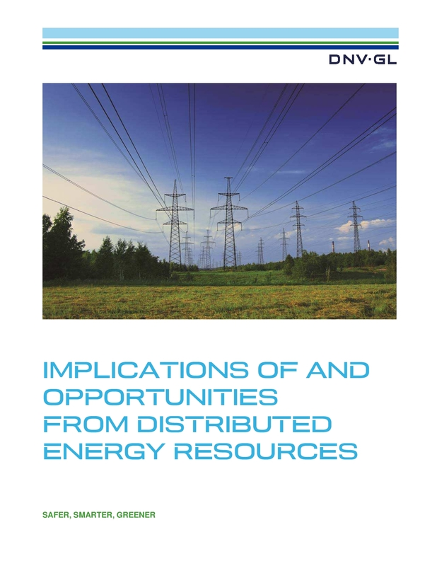 Implications of and Opportunities from Distributed Energy Resources