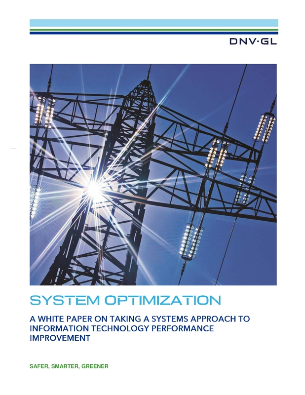 Systems Optimization white paper - March 2015