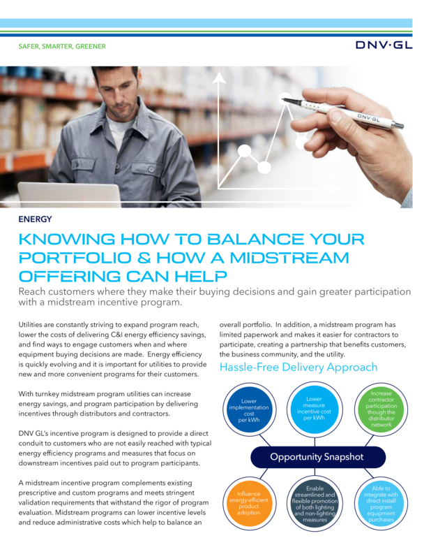 Knowing how to balance your portfolio and how a midstream offering can help