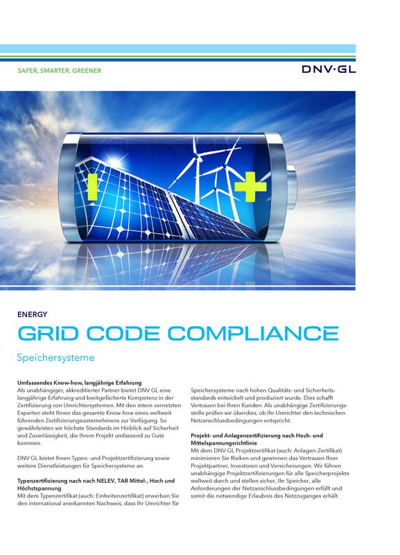 Grid Code Compliance