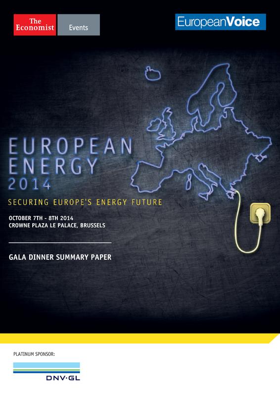 The Economist - European Energy 2014 summary paper