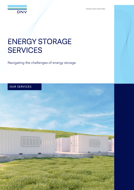 Energy Storage Services