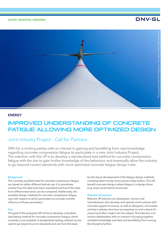 Improved understanding of concrete fatigue allowing more optimized design