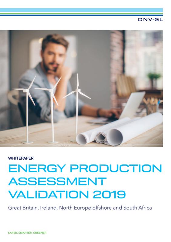 DNV GL Energy Production Assessment Validation Whitepaper 2019