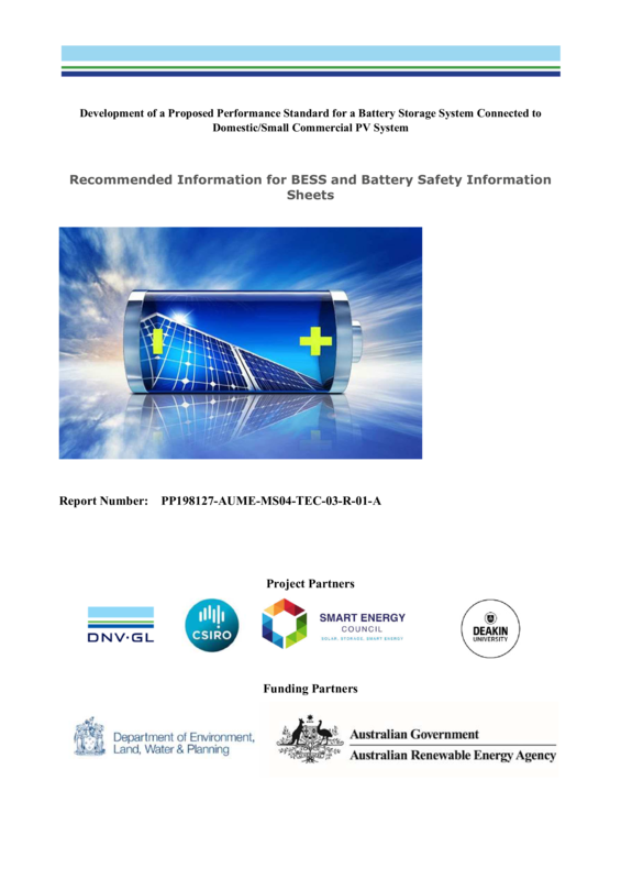 ABPS MSDS recommended best practice report