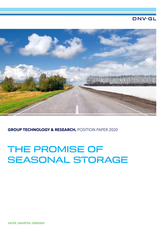 The Promise of Seasonal Storage