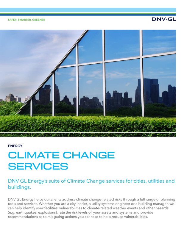 Climate Change Services
