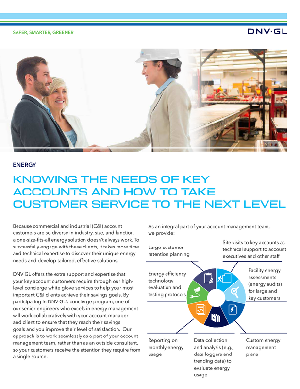 Knowing the needs of key accounts and how to take customer service to the next level
