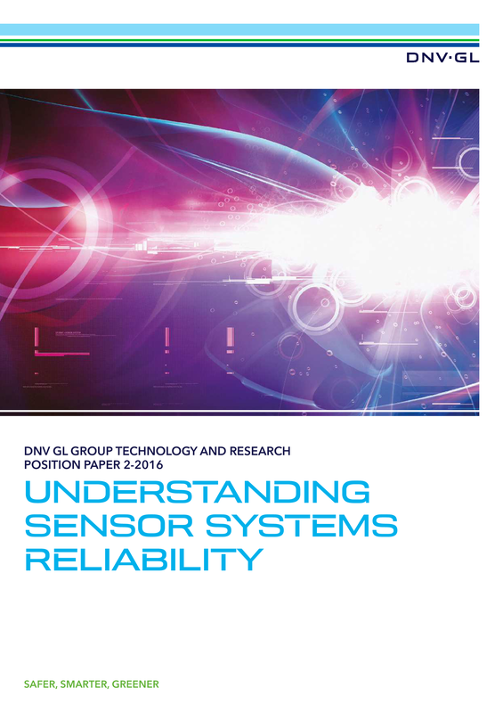 Position paper: Understanding sensor systems reliability