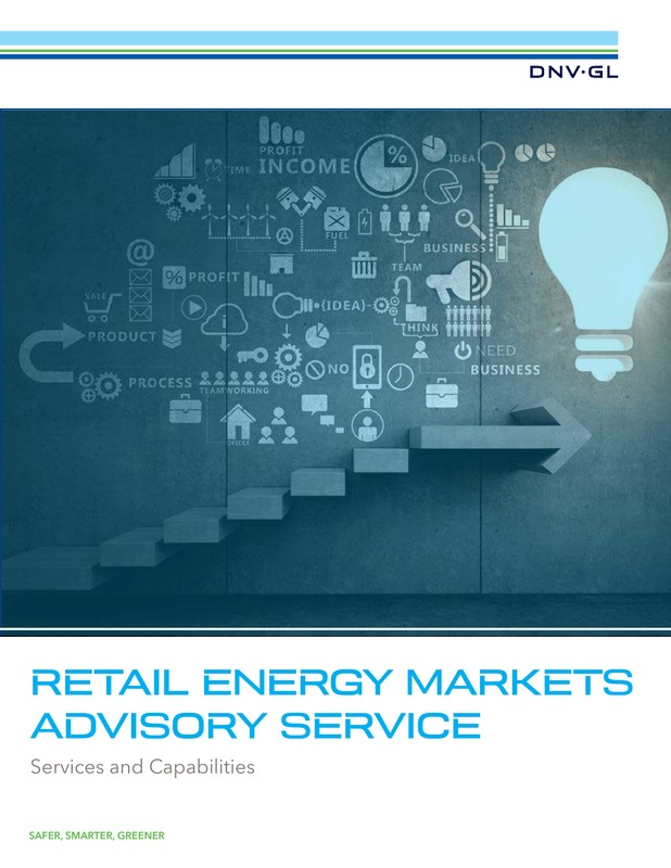 Retail energy markets advisory services
