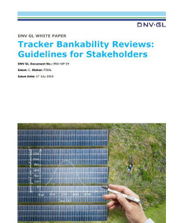 Tracker Bankability Reviews: Guidelines for Stakeholders