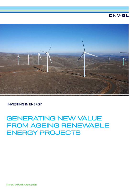 Generating new value from ageing renewable energy projects